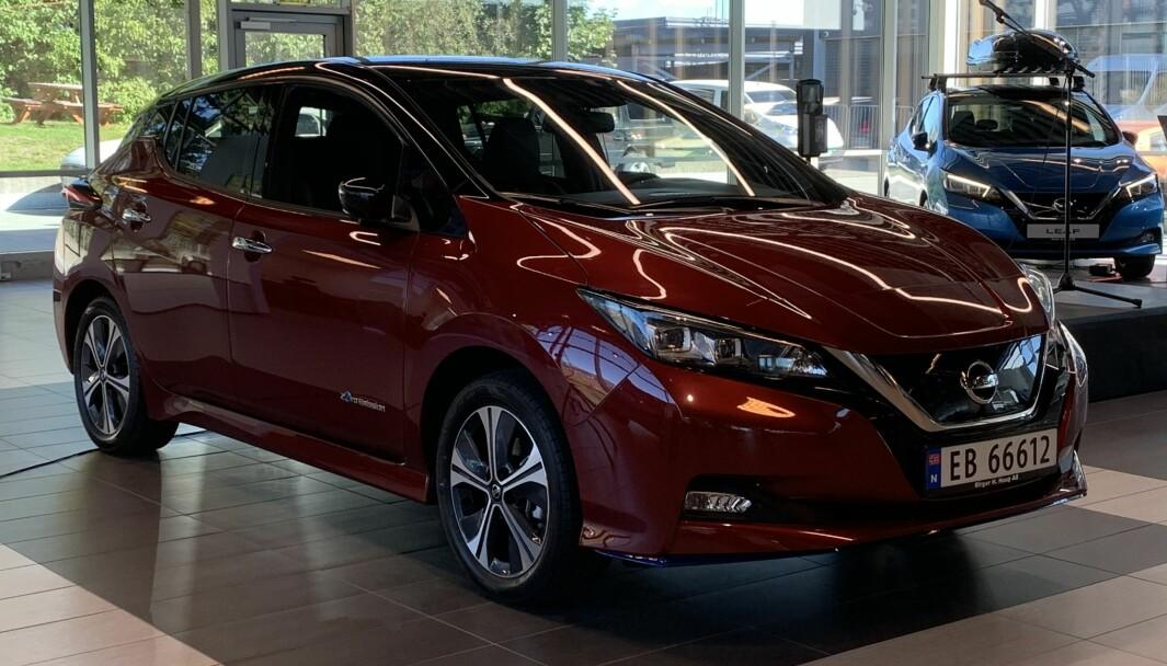 FRA 210.000 SOM NY: Nissan Leaf kommer med attraktiv innstegspris og har senket prisene på øvrige versjoner.