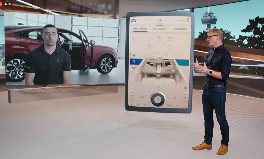 Slik blir teknolgien i nye Ford Mustang Mach-e