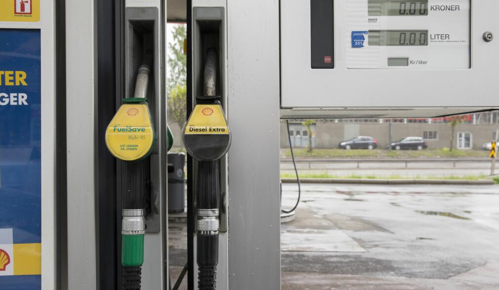 Høyeste bensinpris på over et år