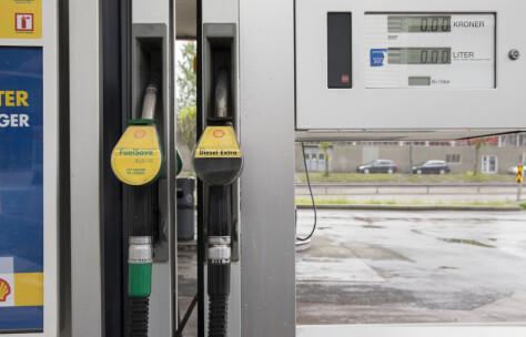 Økt salg av drivstoff til veitrafikken