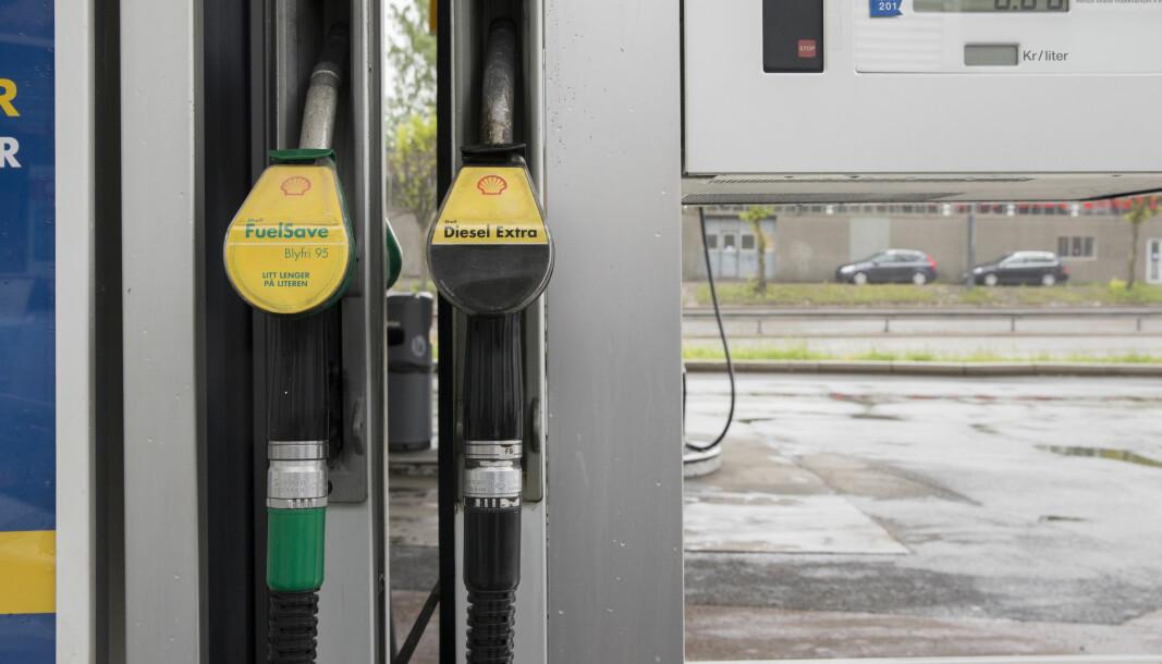 <b>ELBILLANDET:</b> Norske biler flest går stadig på diesel.