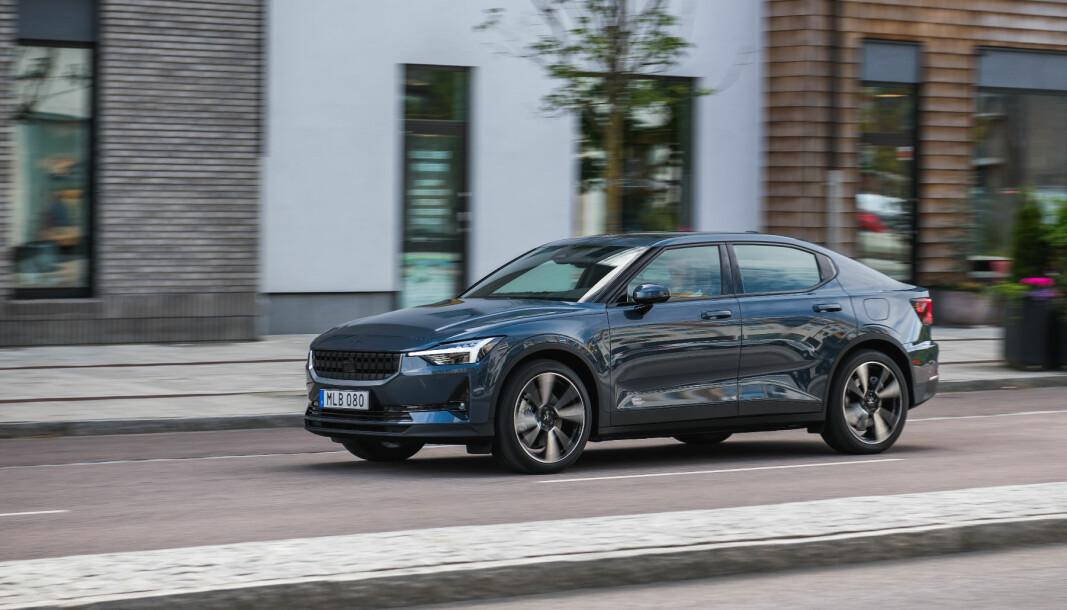 BRAKDEBUT: Polestar har nå levert ut over 600 biler siden Norgesstarten i august.