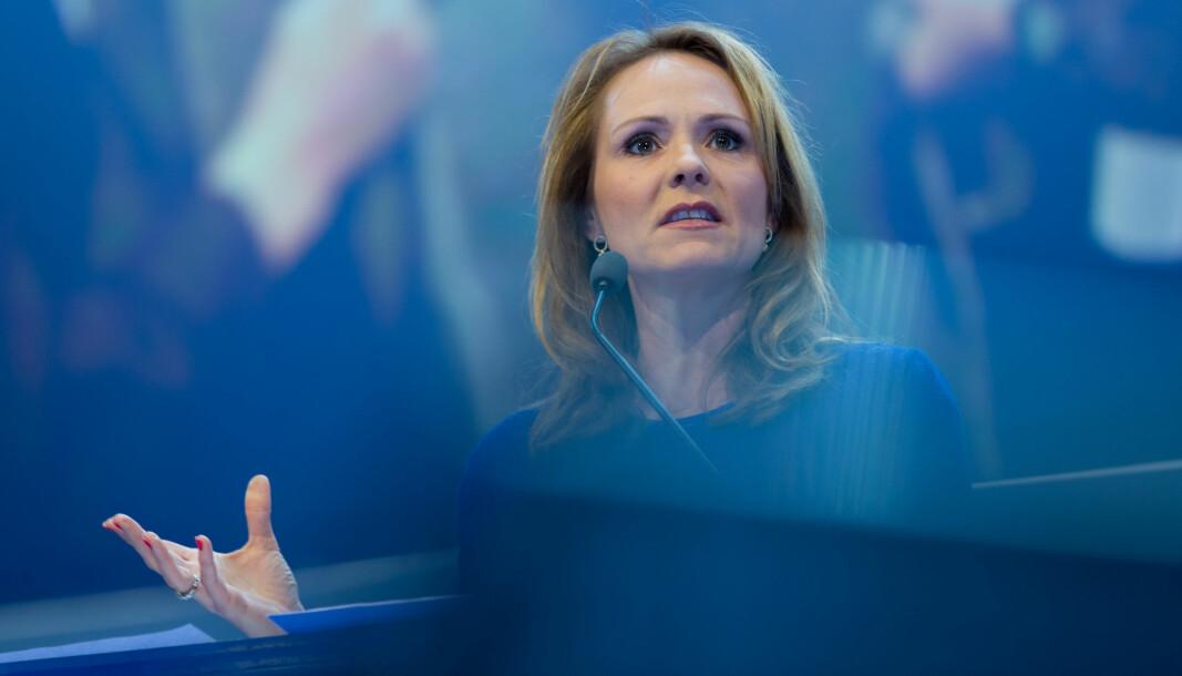 OPP MED BILAVGIFTENE: Linda Hofstad Helleland, leder i Høyres programkomité.