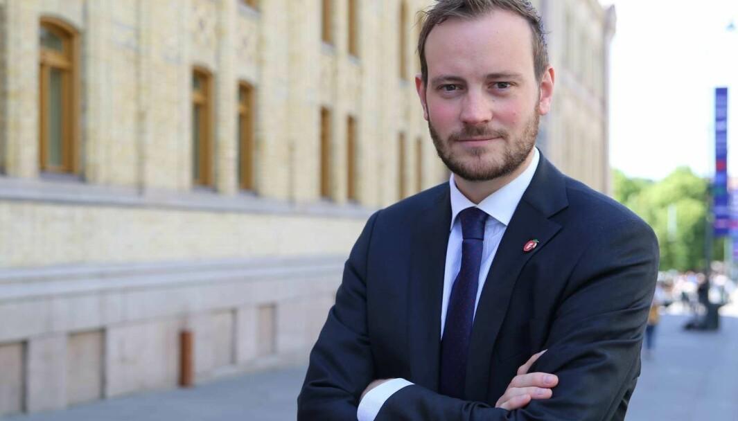 FORNØYD: Sivert Bjørnstad, Fremskrittspartiet