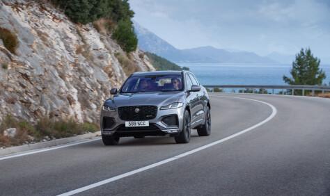 Jaguar oppgraderer ny SUV til ladehybrid