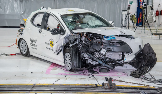 Euro NCAP fornyer kollisjonstestingen