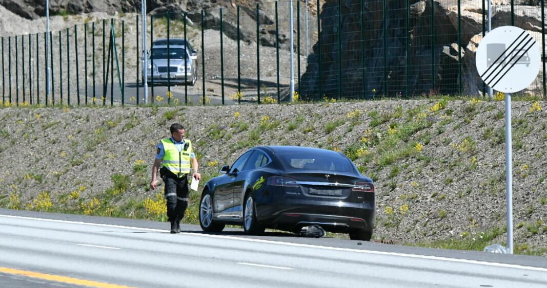 DØDSULYKKE: Politiet ga uriktige opplysninger om egen etterforskning av E18-ulykken.