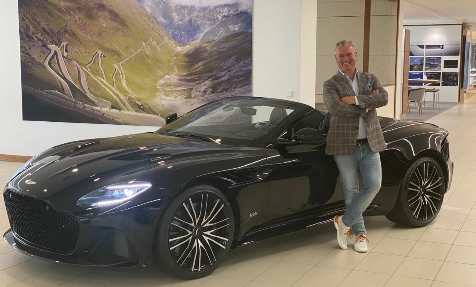<b>ILDSJEL: </b>Thomas Øvreseth har vært navet i det lille, norske Aston-miljøet siden han startet forhandlervirksomhet på starten av 1990-tallet.