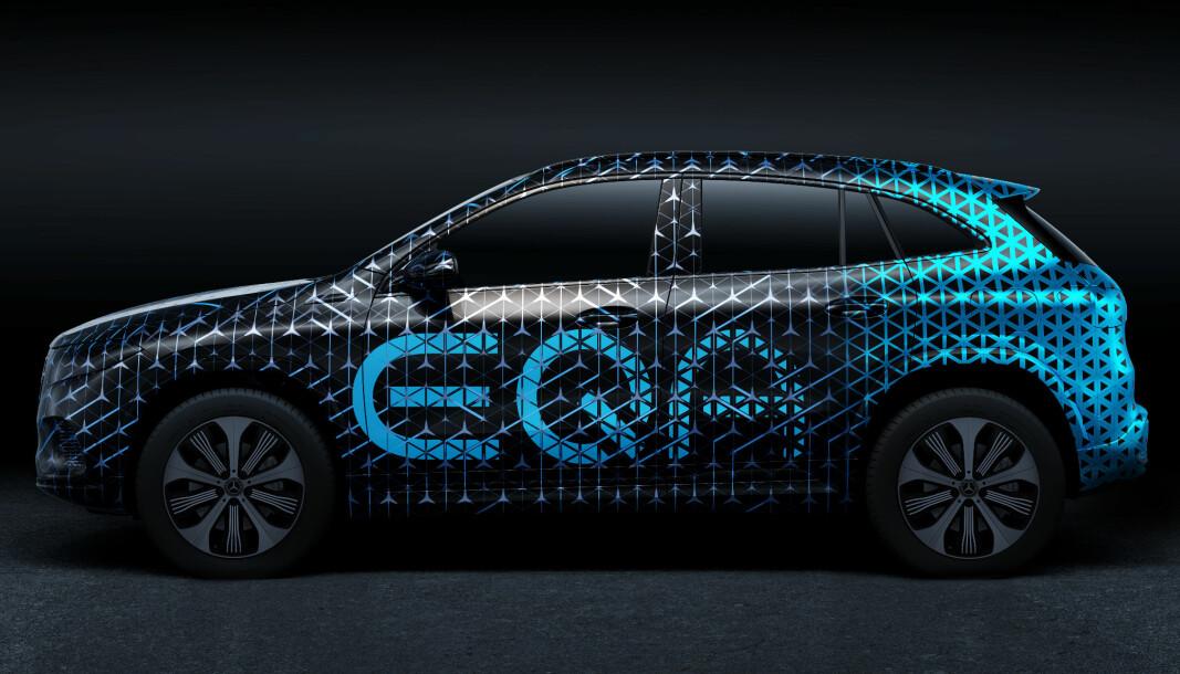 <b>ELBIL NUMMER TO: </b>Mercedes-Benz EQA.