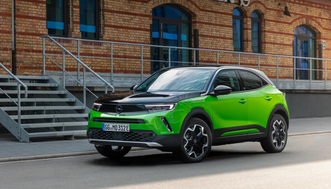 NYTT ANSIKT: Opel Mokka viser Opels nye formspråk.