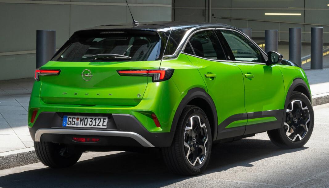 <b>FAMILIELIKHET: </b>Karosseriformen kjenner vi fra DS 3, men Opel har gitt Mokka sitt eget særpreg.