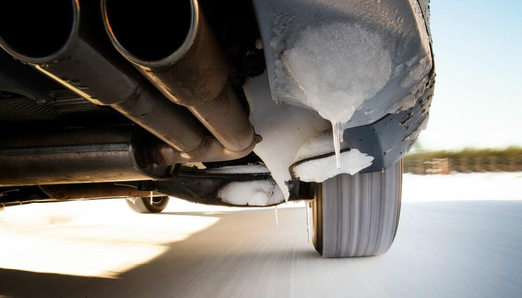RUSTSAMLER: Norske vinterforhold krever biler som står i mot rusten.