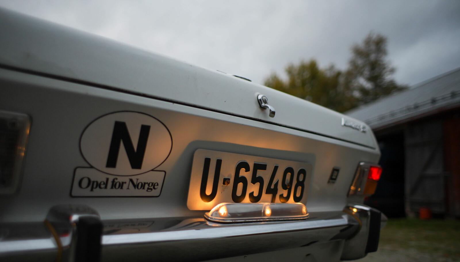 <b>NÅR ENDEN ER GOD…:</b> Som på Stein Pettersens Opel Kadett Fastback, da er allting godt.