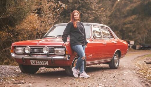 Nå gjør Vanja gamle Opel kult igjen