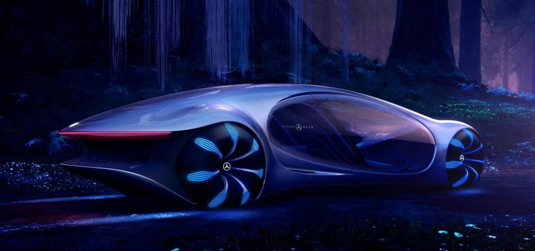 SANSELIG OG INTELLIGENT: Mercedes AVTR handler om fremtidig samspill mellom menneske og kjøretøy.