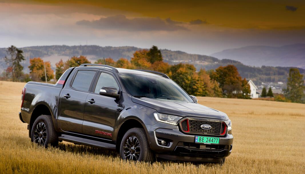 EN HELT PÅ JORDET: En leveranse på 250 eks av en topputstyrt Thunder skal løfte Ford Ranger til pick-up-toppen.