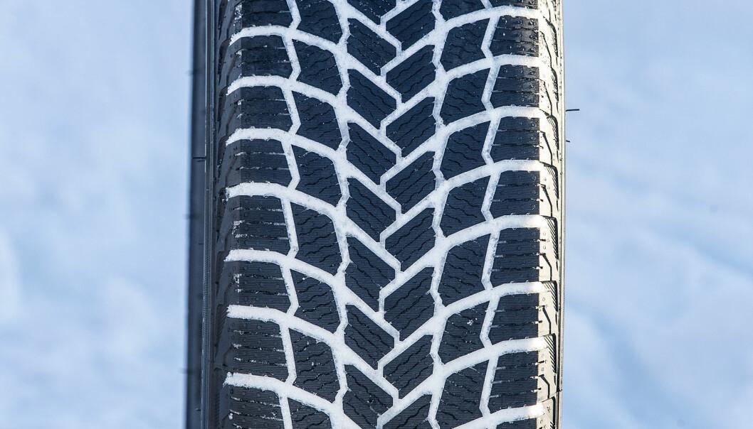 ASFALTBREMS: Michelin X-Ice Snow