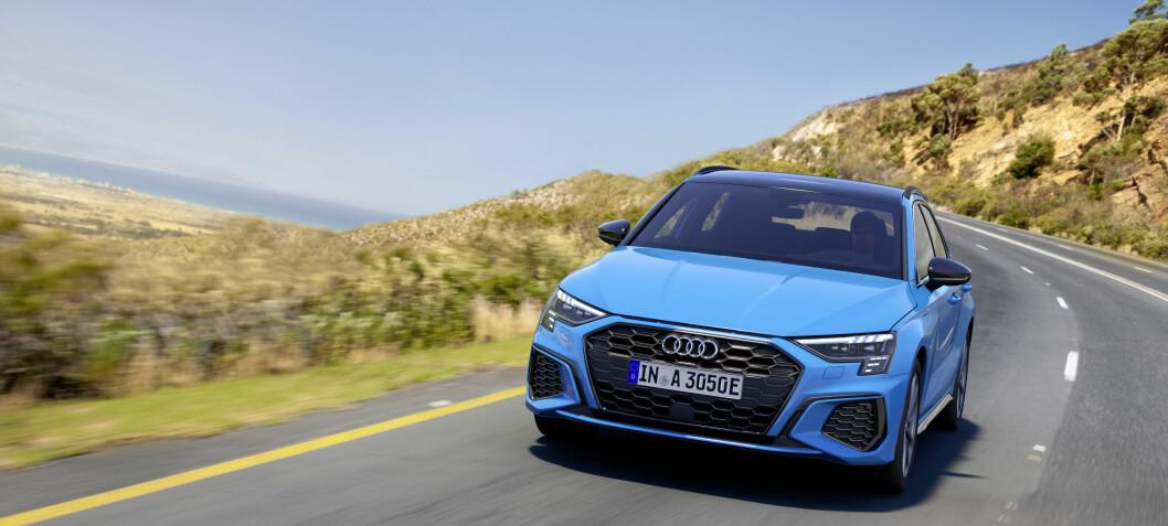 Audi får et hjul til å stå på