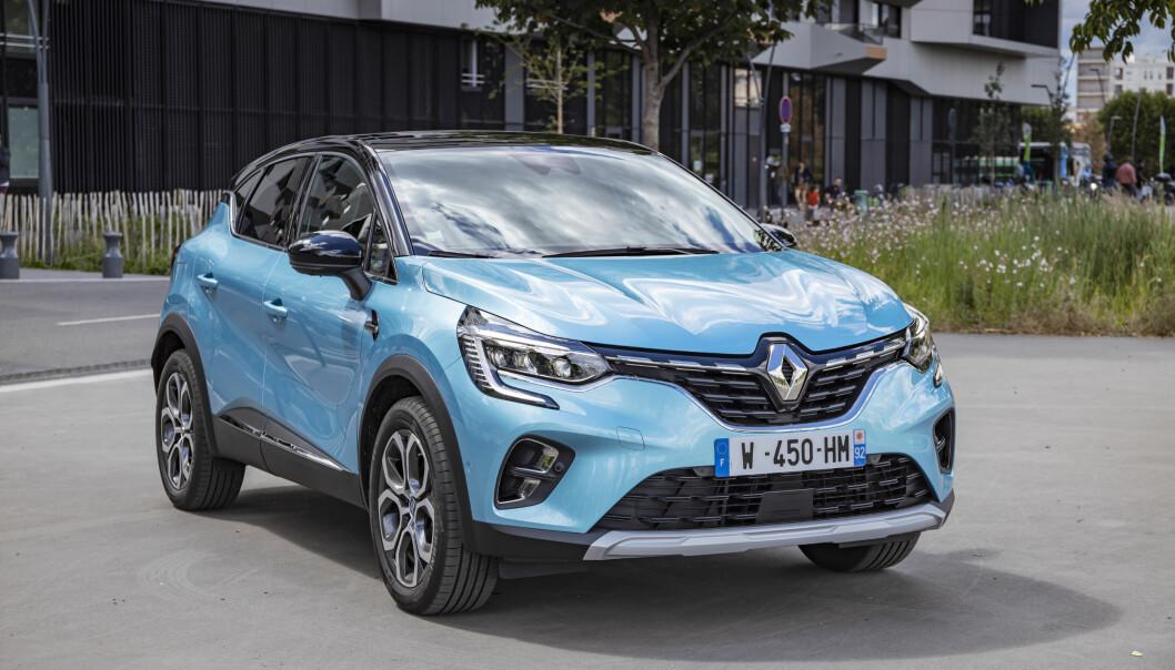 LINJELEKKER: Renault Captur kommer nå i ladbar versjon.