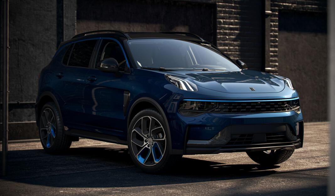 KOMMER TIL VÅREN: Dette er Lynk & Co 01, den nye ksvensk/kinesiske SUV-en som deler plattform med Volvo XC40.
