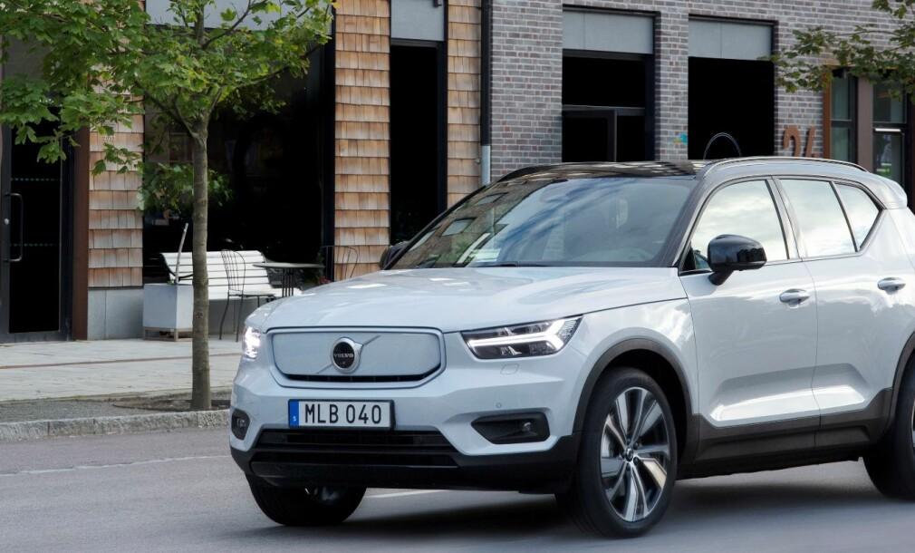 Volvo-elbil skuffer i rekkeviddetest