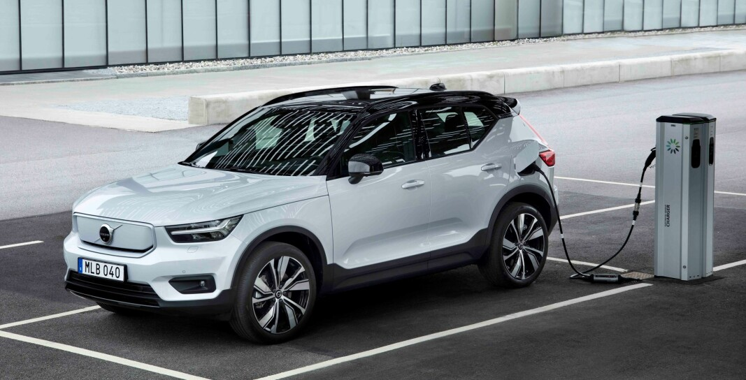 EN MÅNED IGJEN: Volvo XC40 Recharge Pure Electric leveres til kundene fra månedsskiftet oktober/november.