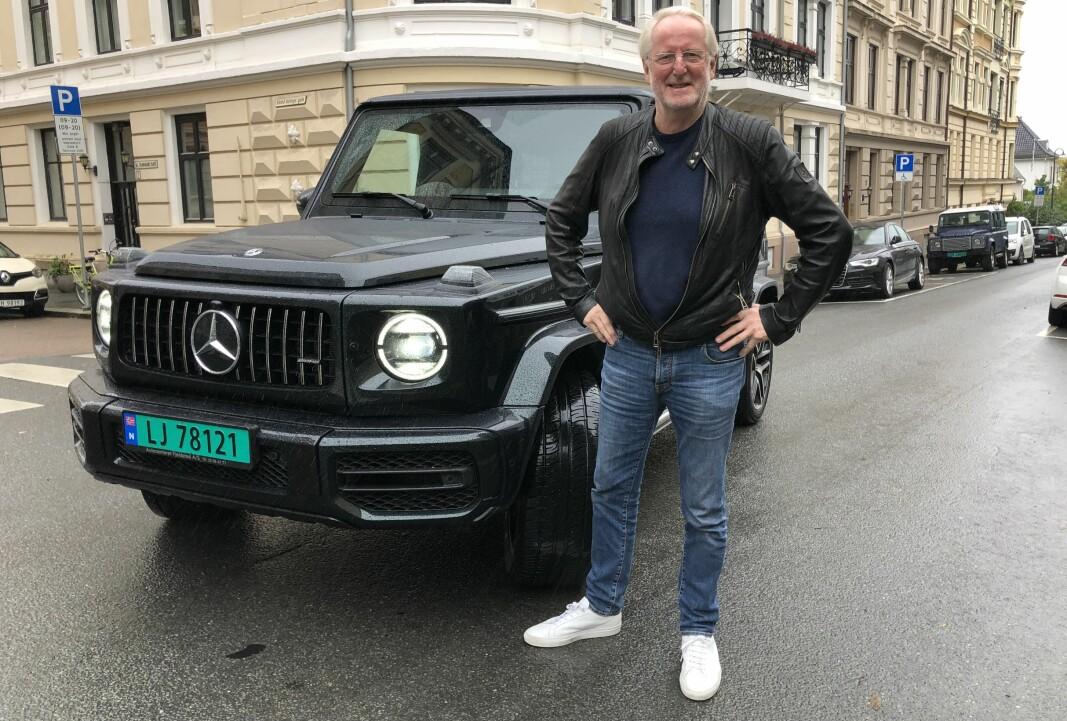 <b>G-WAGEN: </b>Eyvind Hellstrøm står bak TV-suksesser som «Truls à là Hellstrøm» og har full fres på Instagram med tips og oppskrifter – når han ikke freser av gårde i sin G63 Brabus.