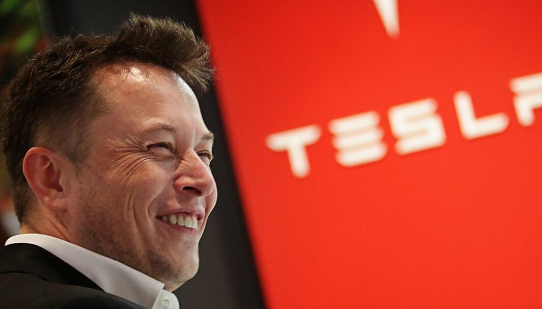 NÆR MÅLET: Tesla-sjef Elon Musk