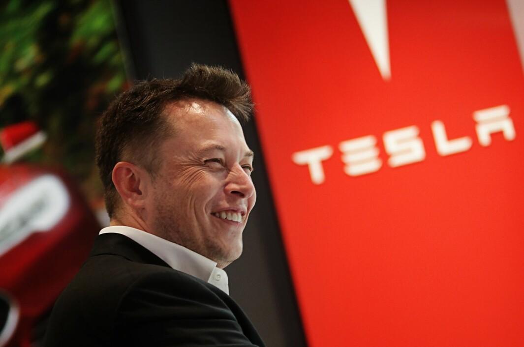 SPENT: Tesla-sjef Elon Musk.