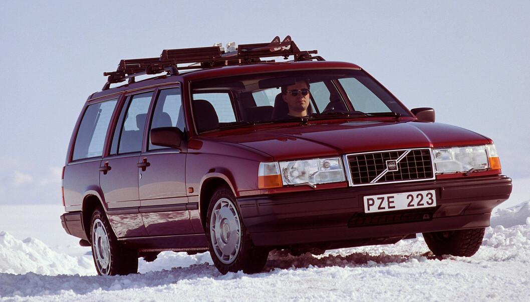 KLASSIKER: Volvo 940, først produsert i 1991.