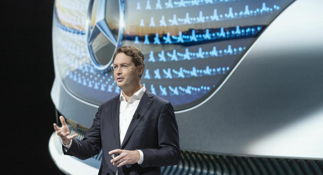 MERCEDES-OFFENSIV: Sjefen for Daimler-konsernet og Mercedes-Benz presenterte denne uken en oppdatert konsernstrategi.