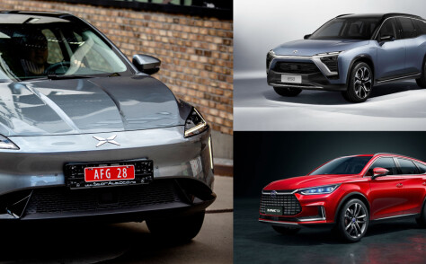 Flokker seg rundt kinesisk elbil-trio