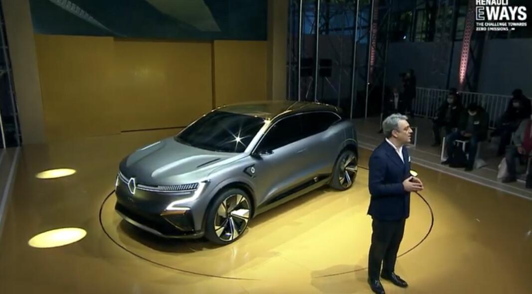 KOMMER NESTE ÅR: Zoe får en storebror med elektriske Renault Mégane.