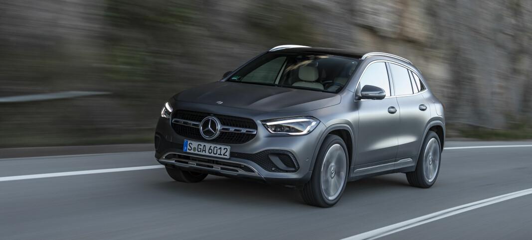 Nå kommer Mercedes med en skikkelig GLA-SUV