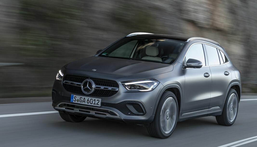 MER RENDYRKET: Nye Mercedes GLA, som nå er priset for Norge, fortjener omsider sin G.