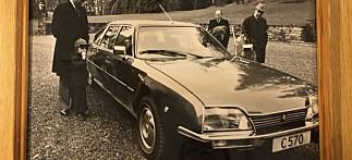 Kong Haralds flørt med Citroën
