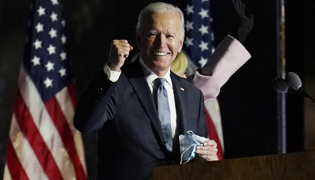 BYGG TILBAKE BEDRE: President Joe Biden bekrefter torsdag at han setter som mål at halve bilsalget skal være nullutslippsbiler innen ni år.