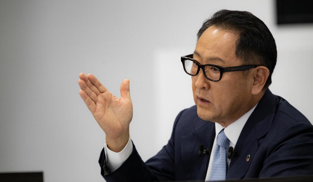 Toyota-sjef fyrer av mot elbil-satsingen
