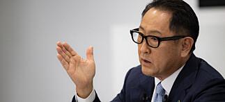 Toyota-sjef med skikkelig sleivspark mot Tesla