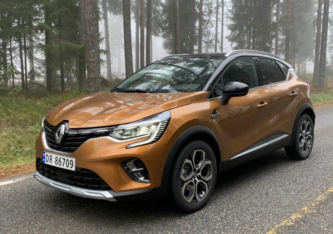 MARKANT PERSONLIGHET: I forhold til forgjengeren har dagens Renault Captur mer karakter og våger å skille seg ut med designmessige særegenheter.