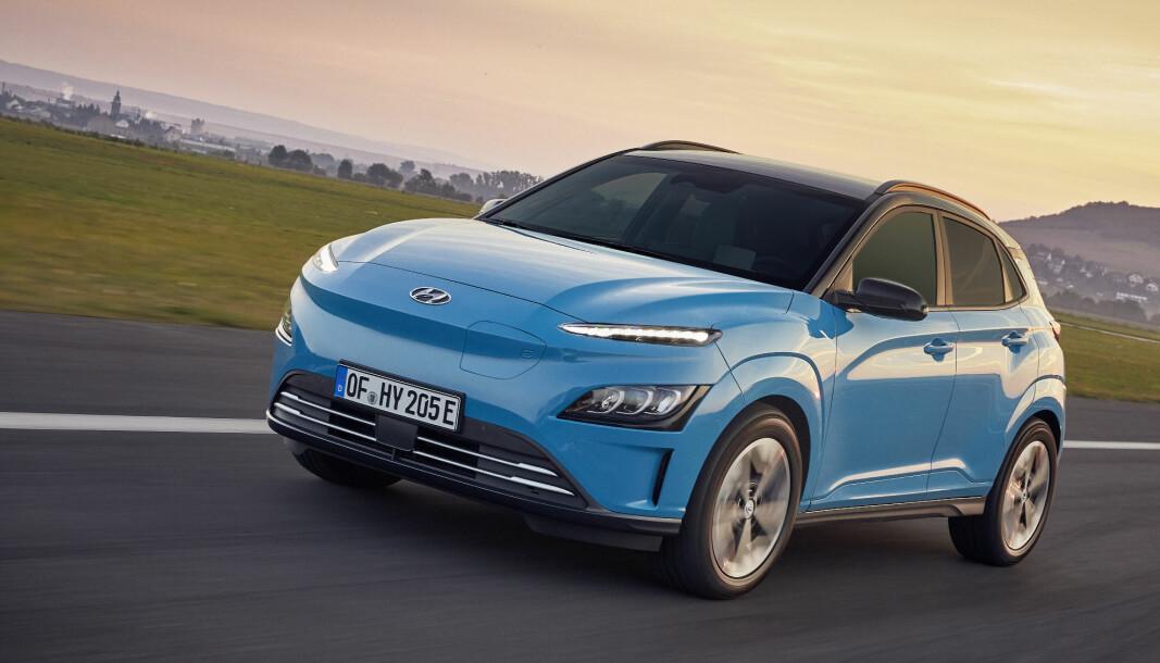TRYNEFAKTOR: Hyundai har oppdatert utseendet på sin suksessrike elbil, Kona Electric. Og en betydelig rimeligere versjon er tilgjengelig.