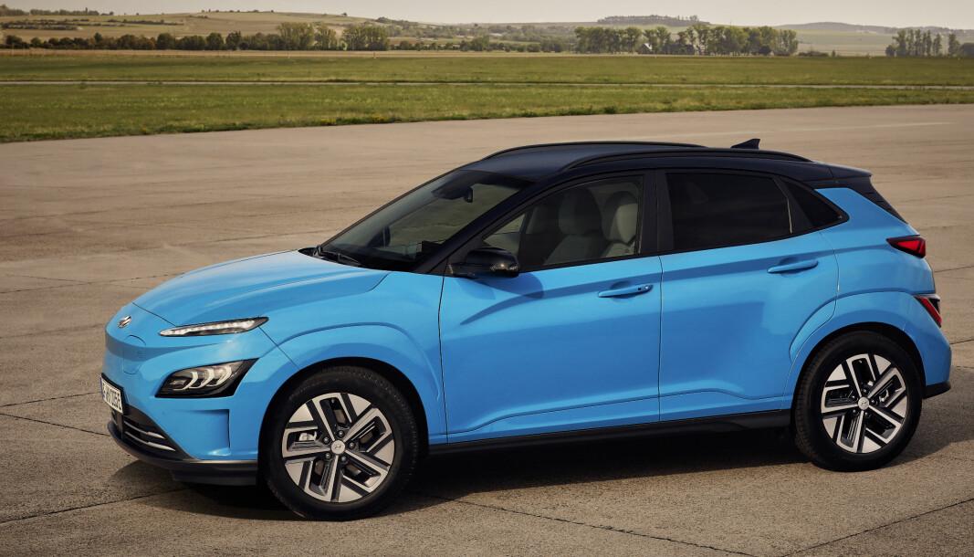 FORNYES: Tidlig neste år kommer Hyundai Kona allerede i oppgradert versjon, etter drøye to år på markedet.