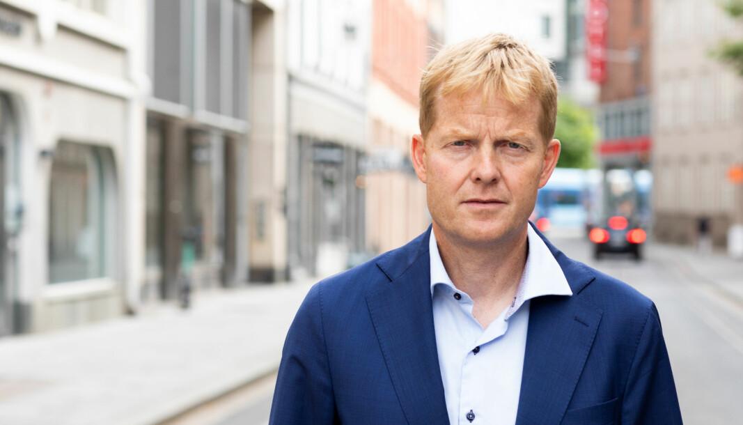 ØKOKRIM-SJEF: Pål Lønseth er fra i sommer sjef for Økokrim.