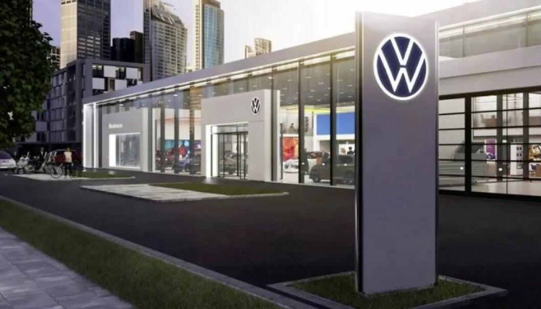 MERKEFORHANDLER: Bilselgeren jobbet hos en merkeforhandler av blant annet Volkswagen.