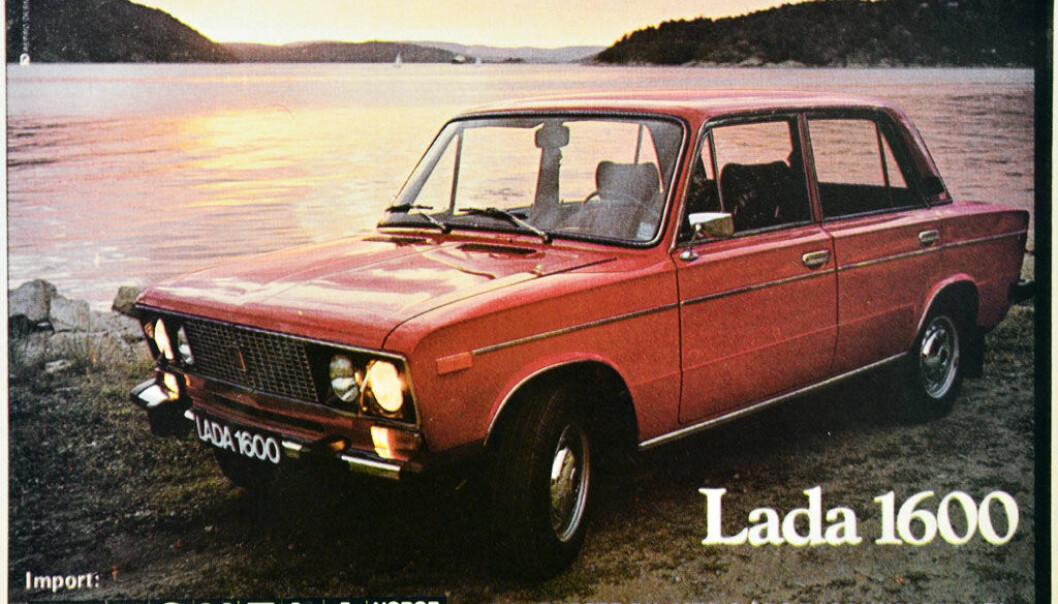 <b>LADA I SOLNEDGANG:</b> Det russiske merket ble en periode Hedmarks mest solgte. Enkelte hevdet årsaken var at kommunismens sto sterkt oppetter Østerdalen, men Helge Granruds evner som bilselger var den egentlige, utløsende faktoren.