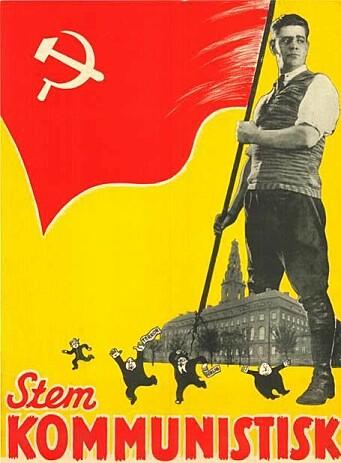 "<span class=""font-weight-bold"" data-lab-font_weight_desktop=""font-weight-bold"">PÅ PLAKATEN:</span> Norges kommunistiske parti kjørte gjerne Lada."