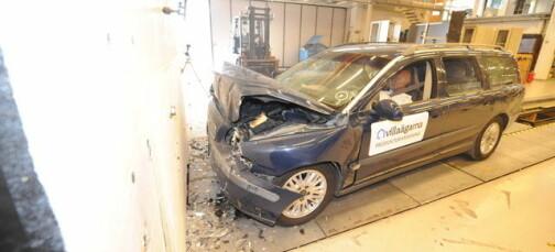 Så mye farligere er bilen når du krasjer med bagasje
