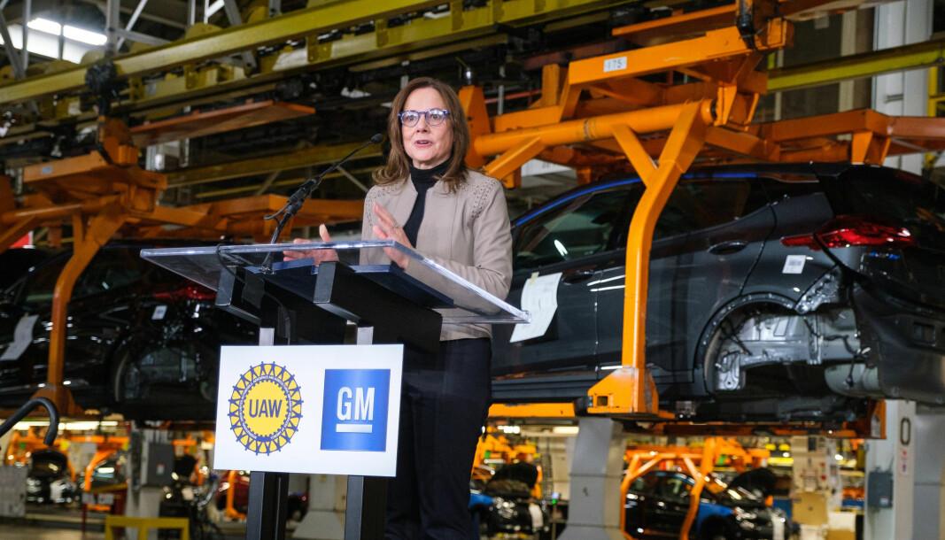 TILBAKEKALLER: Svakheter ved kollisjonsputene fra Takata skaper trøbbel for GM-sjef Mary Barra.