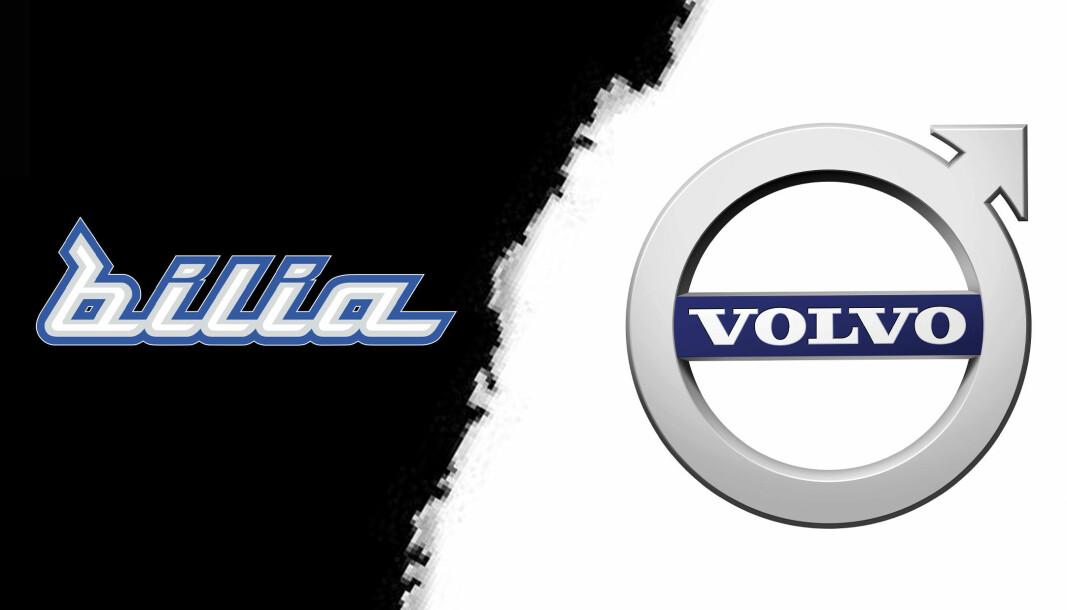 BRUDD: Volvo har sagt opp Bilia-avtalen.