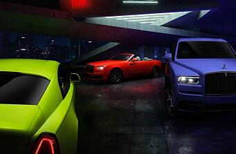 Begynner å bli lei av fargen på Rolls-Roycen din?